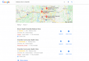 seo for medical clinic