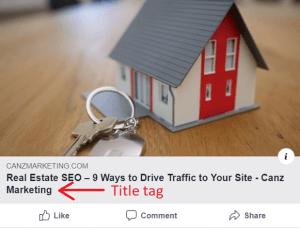 meta tags for driving traffic