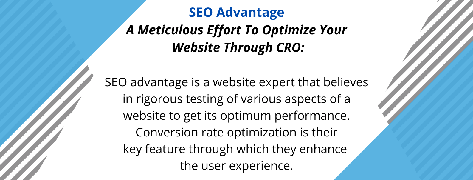 SEO Advantage - one of the best SEO agencies in Australia - with its unique selling propositions