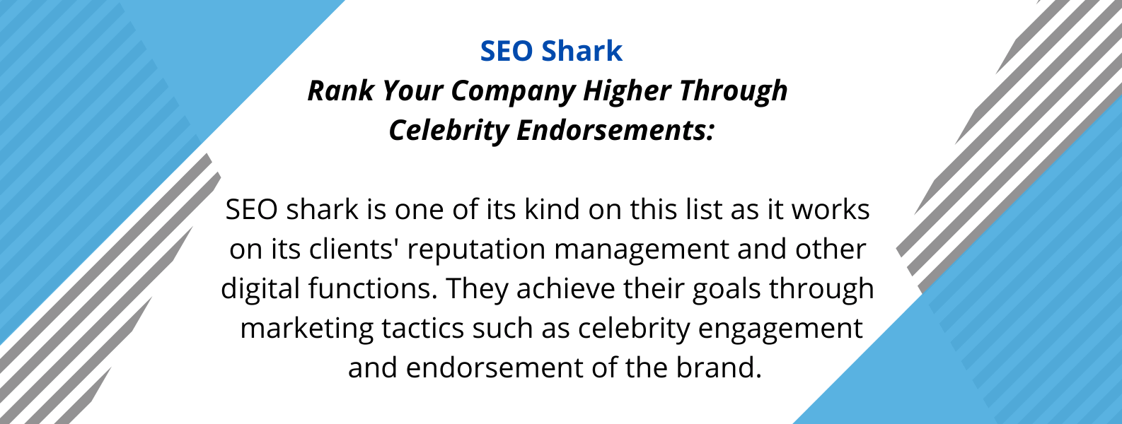 Unique Selling Proposition of SEO Shark - one of the best SEO agencies in Australia